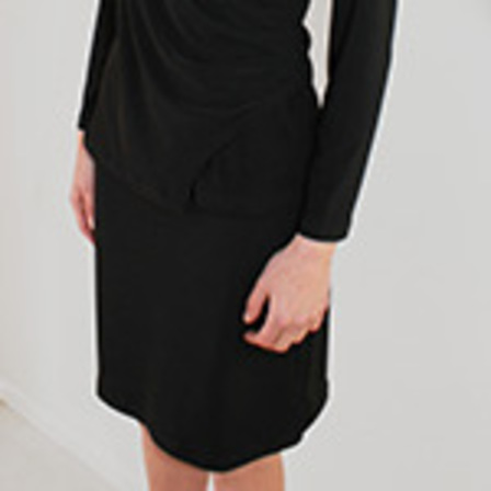 Wrap Tunic with Collar SALE